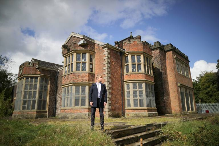 GETTY IMAGES: Photoshoot at Hopwood Hall: Hopwood Hall Rochdale