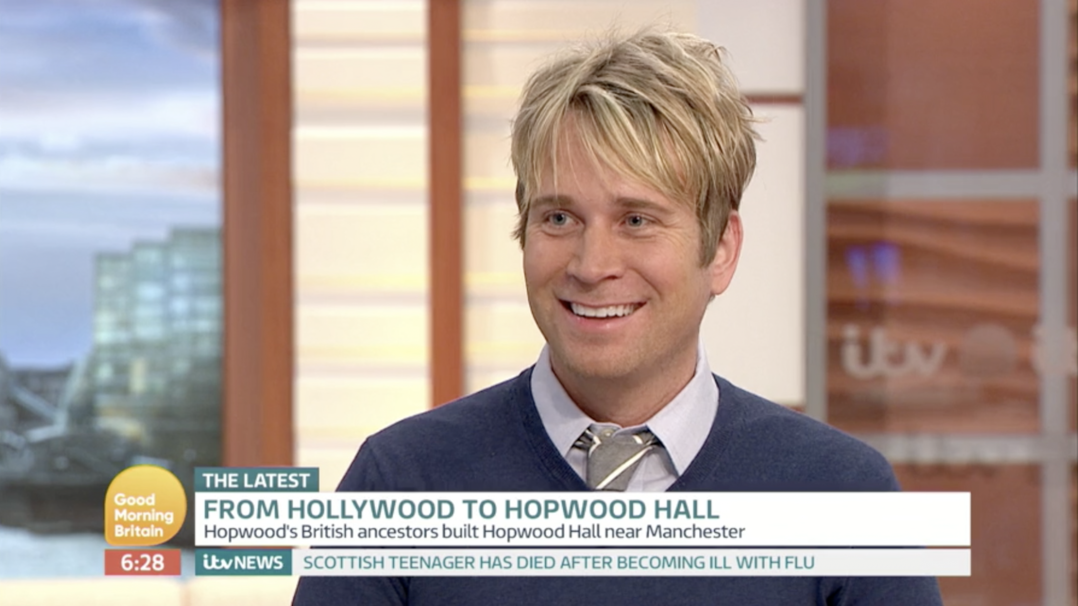 GOOD MORNING BRITAIN with guest Hopwood DePree: By Factory, Digital Agency In Manchester