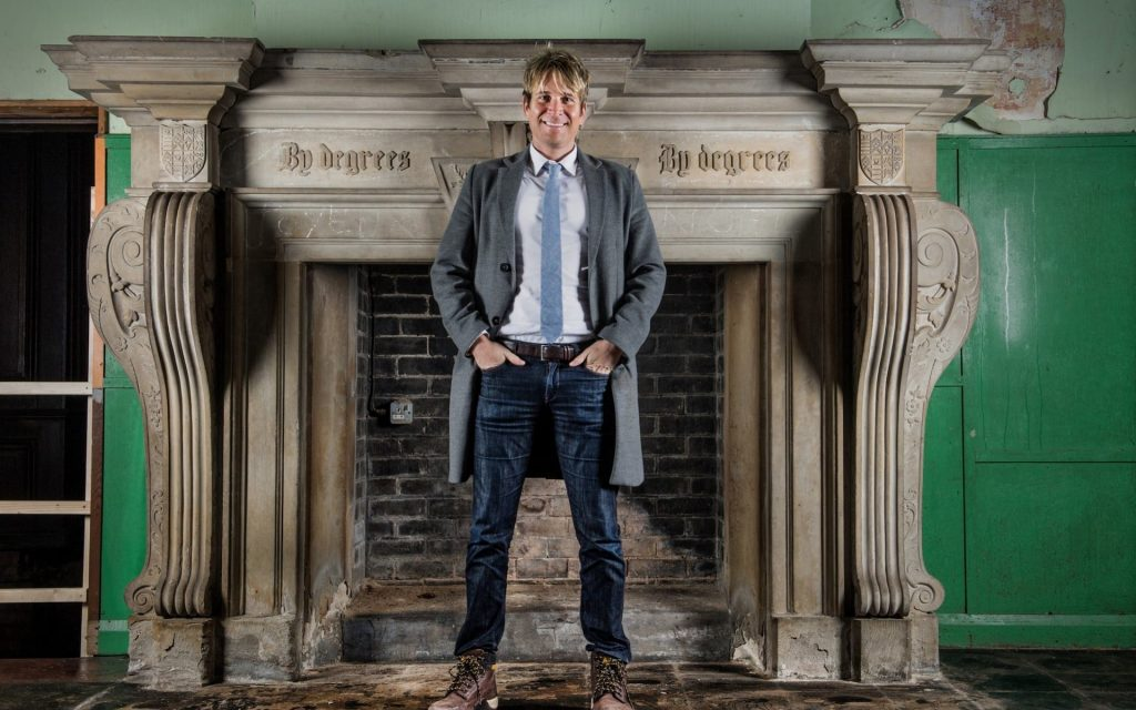 THE TELEGRAPH: Meet Hopwood Depree, the LA actor who has swapped Hollywood for his crumbling ancestral pile in Manchester 1