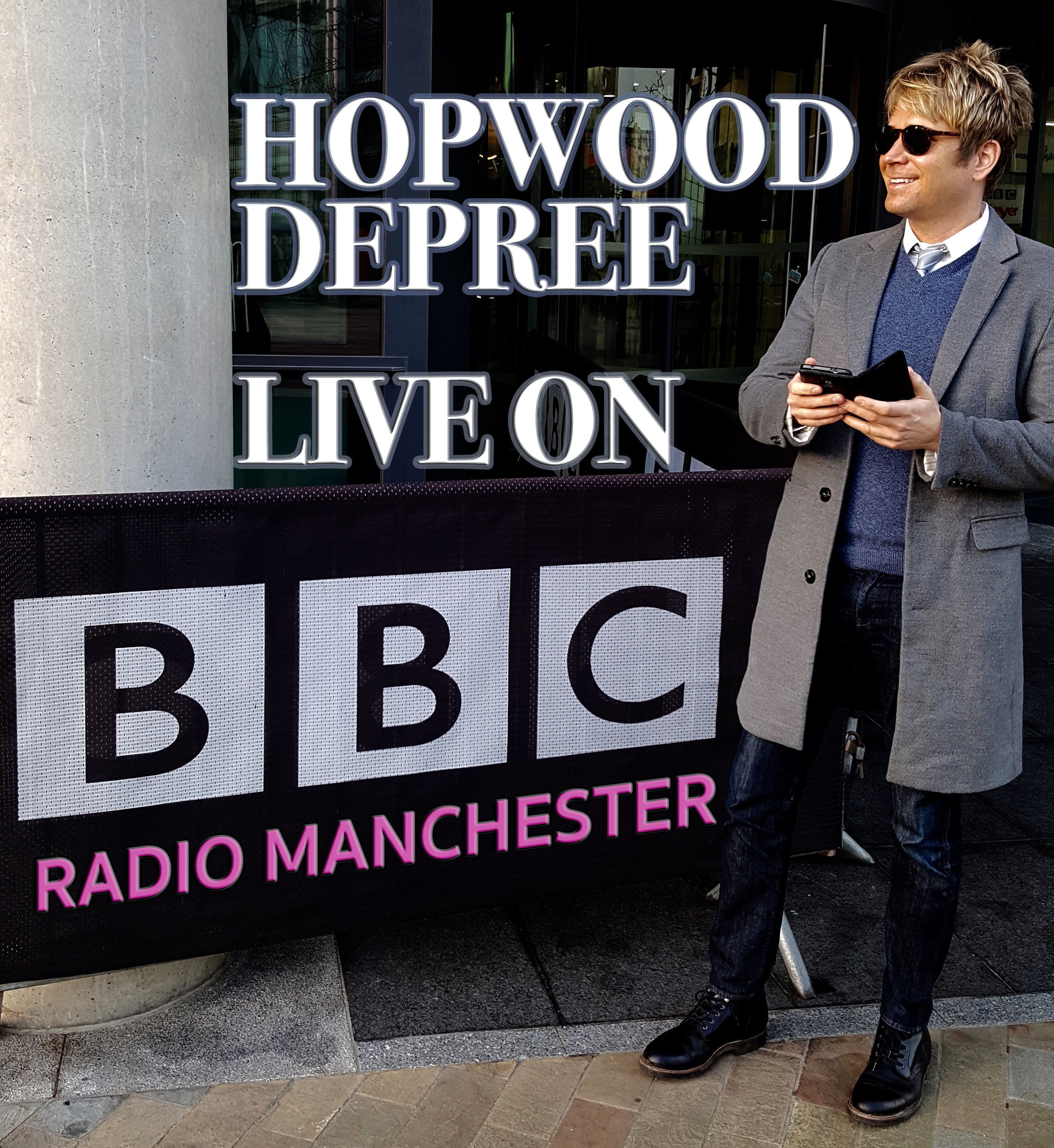 "BBC RADIO MANCHESTER: ""Read The Papers"" with Hopwood DePree on 21st February 2018: By Factory, Digital Agency In Manchester"