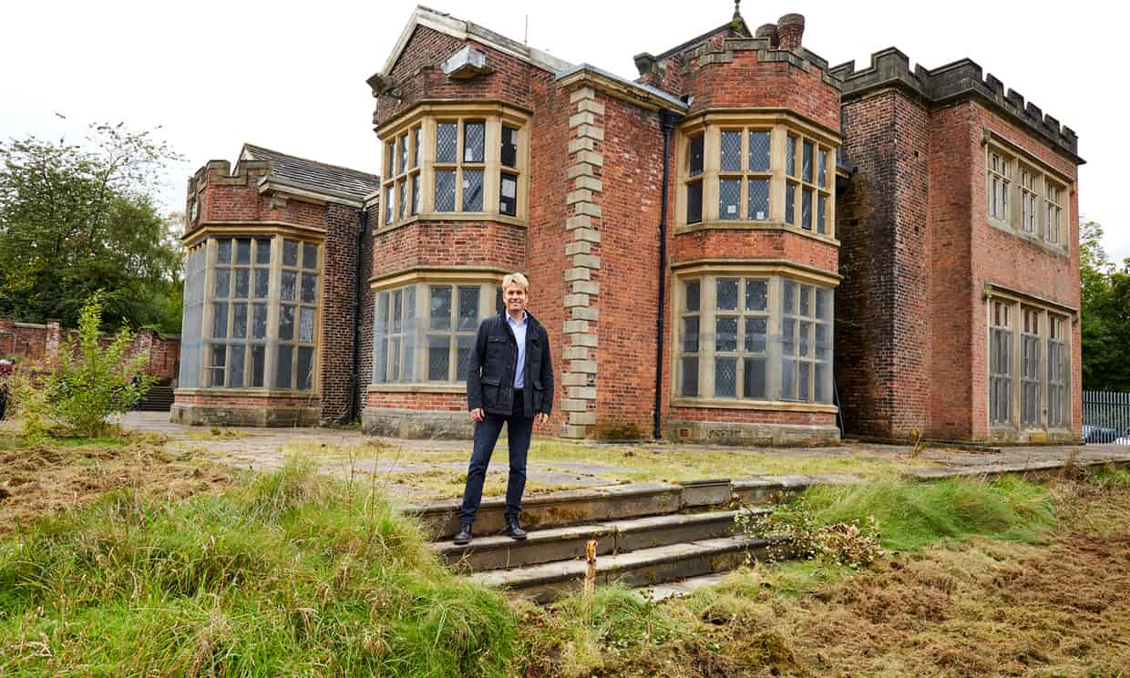 THE GUARDIAN: 'His Ancestral Home Is A Tip': The Californian Restoring Rochdale's Grandest House.: By Factory, Digital Agency In Manchester
