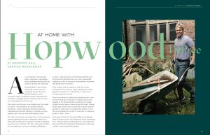 HISTORIC HOUSES MAGAZINE - At Home With Hopwood 1